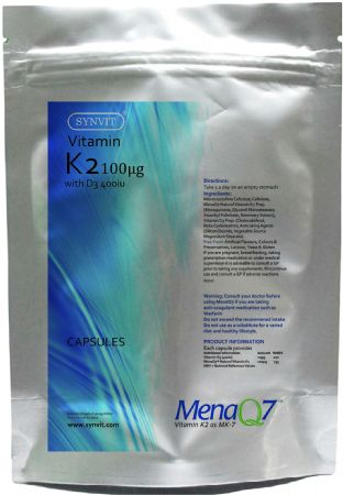 Vitamin K2 MenaQ7 With Vitamin D3 SYNVIT®
